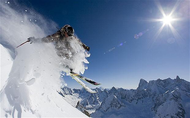 Custom-made sports orthotics for Ski